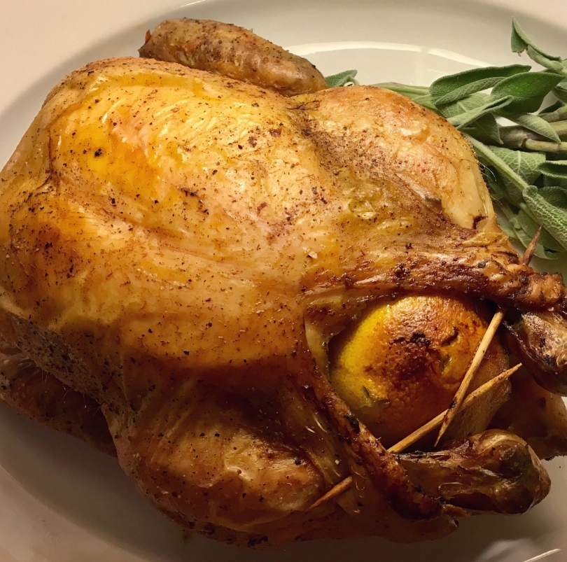 Delicious Lemon Roast Chicken